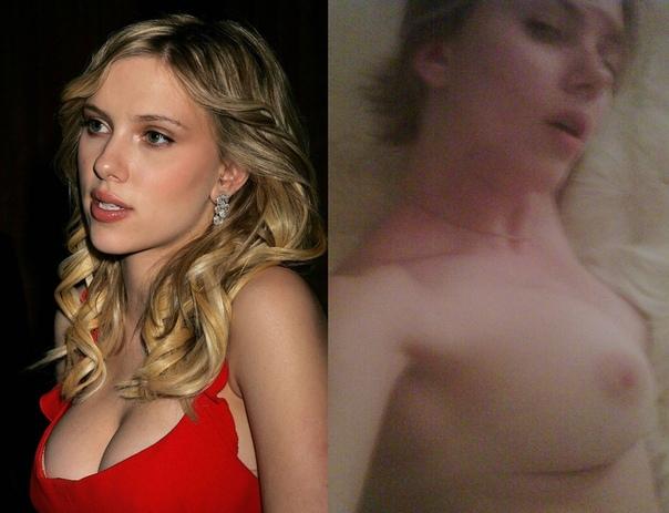 Scarlett Johansson Boob Slip