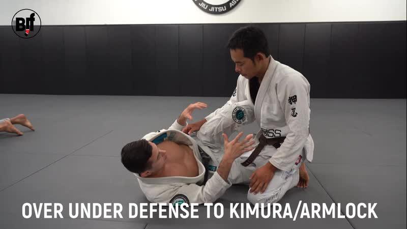 Caio Terra - OVER UNDER DEFENSE TO KIMURA ARMLOCK