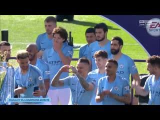 Церемония награждения Ман Сити _Football_House