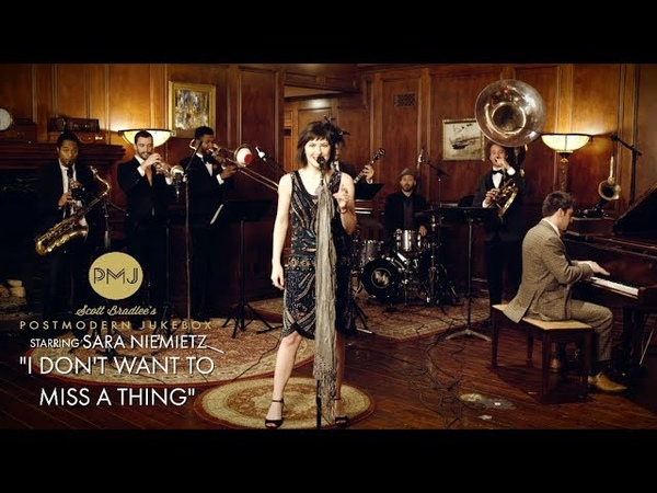Sara Niemietz - I Don't Want To Miss A Thing (Aerosmith 1920s Brass Band Cover)