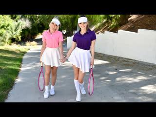 TeamSkeet Allie Nicole, Athena Faris - Stepsister Tennis Sex NewPorn2019