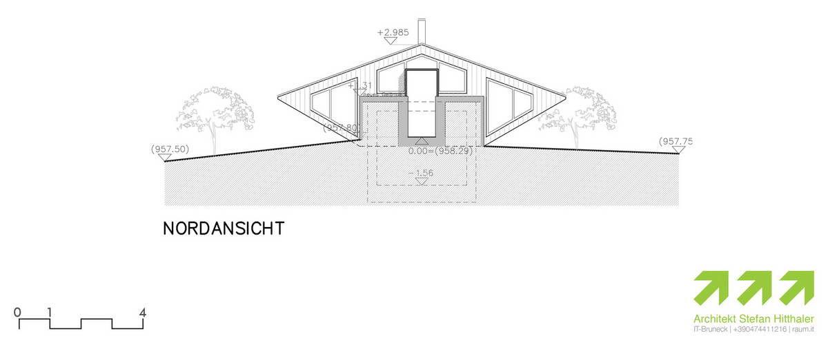 Дом НЛО в Италии от Stefan Hitthaler.