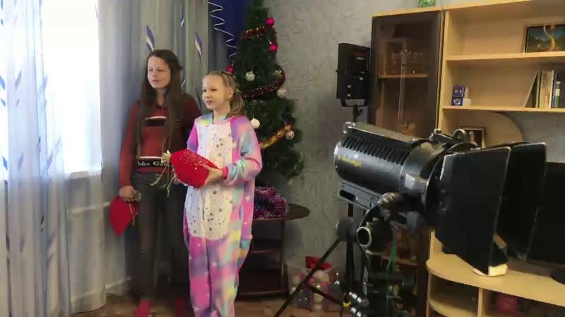 🎬 Прямой эфир ❗️ Снимаем деский короткометражный фильм Новогодний сюрприз 🎅🏼🎁👧🏼