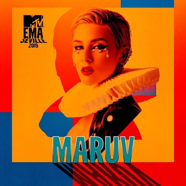 "MARUV стала номинантом ""MTV EMA""."