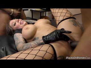 [BlacksOnBlondes] Karma Rx [HD 1080, 2 on 1, Big Tits, Black, Bl