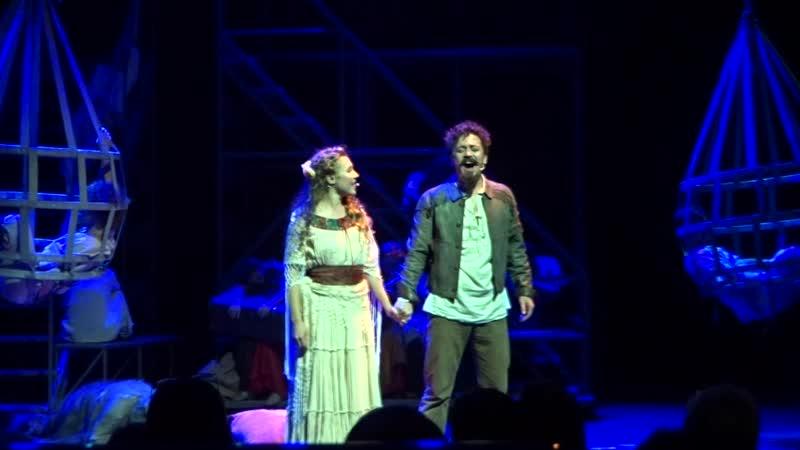 Ив Набиев и Анна Март - Хоакин Мурьета - Театр Алексея Рыбникова - ММДМ 12.10 2019
