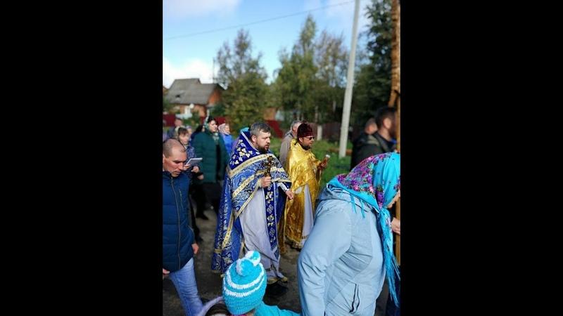 Крестный ход в Мишутино \ Храм Рождества Богородицы\ Сергиев-Посадский район