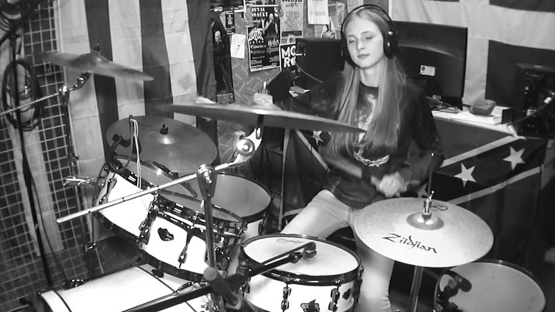 Linkin Park New Divide drums cover by Nastya Ievleva