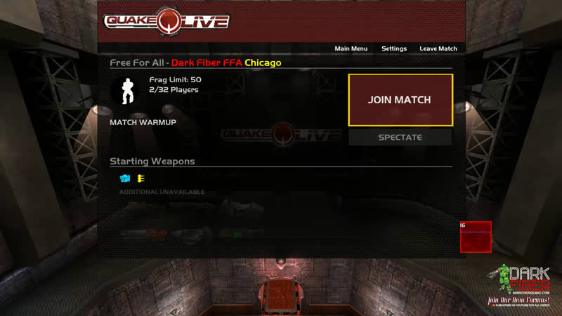 Dark Fiber - Quake Live! Join us on Discord chat! discord.ggv7bP7WR