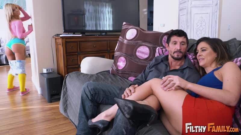 Filthyfamily - Step-Mom Teaches Me To Fuck Her BF / Cherie Deville & Kenzie Reeves