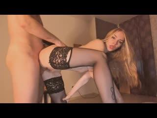 Наташа в чулках хочет кончить порно, секс, трахает, русское, инцест, мамка, домашнее