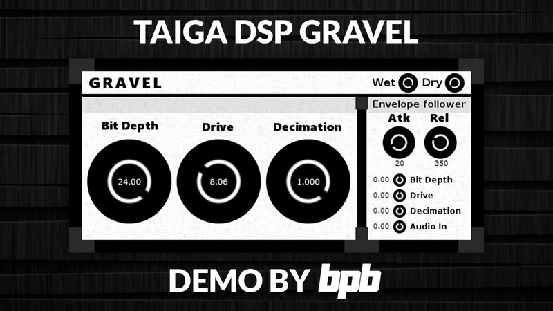Gravel FREE Distortion VST Plugin DEMO
