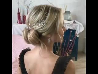 Подойдет прическа для подружки невесты
