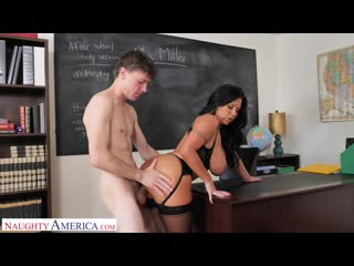 Sheridan Love - MICHELLE MILLER (SHERIDAN LOVE) TEACHES STUDENT HOW TO FUCK [Hardcore, Oral]