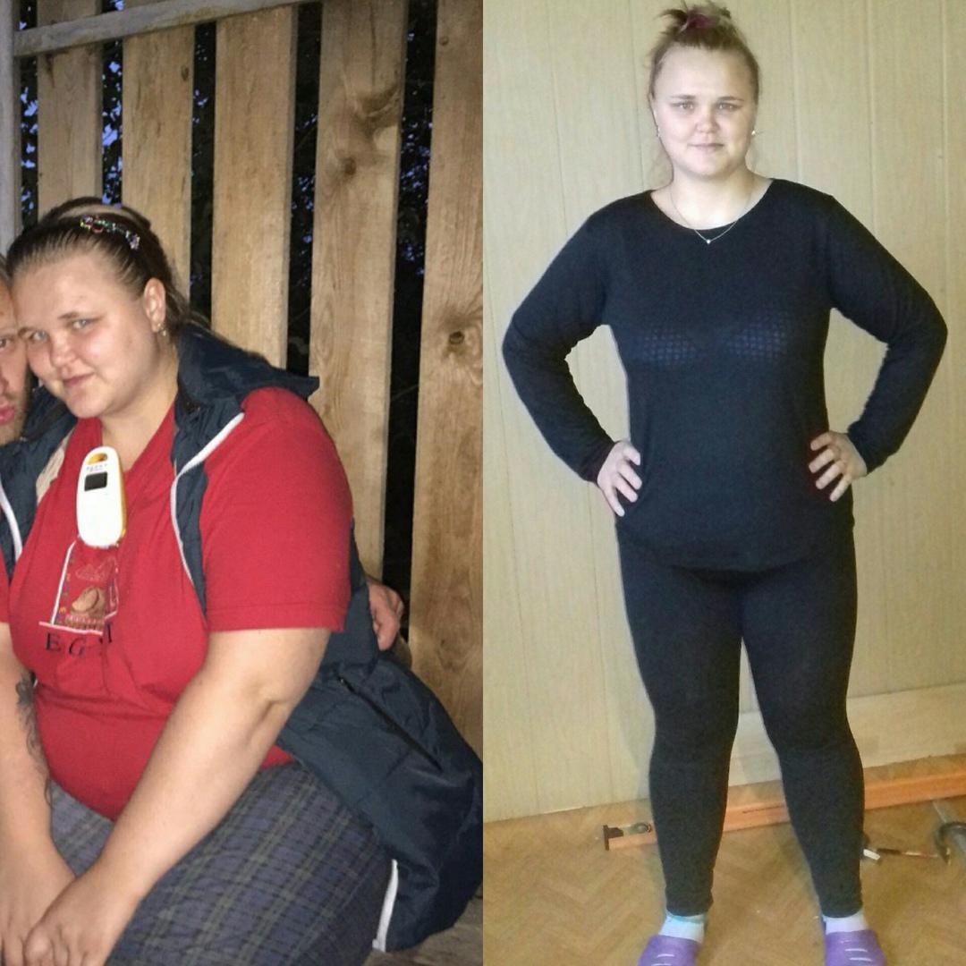 Похудеть с 80 до 40