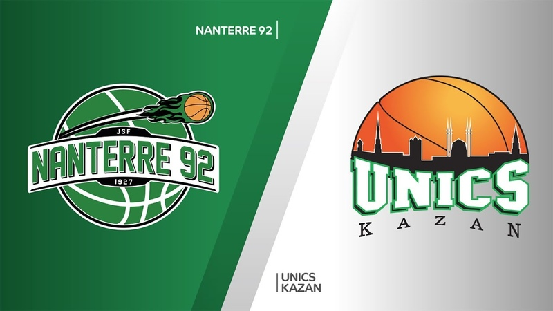 Nanterre 92 - UNICS Kazan Highlights | 7DAYS EuroCup, RS Round 3