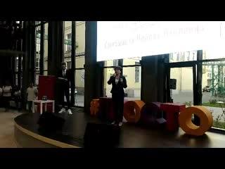 """Вице-губернатор Санкт-Петербурга Любовь Совершаева на открытие пространства """"Просто"""""""