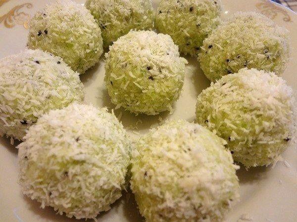 Безудержно вкусные сладкие шарики с киви и орехами