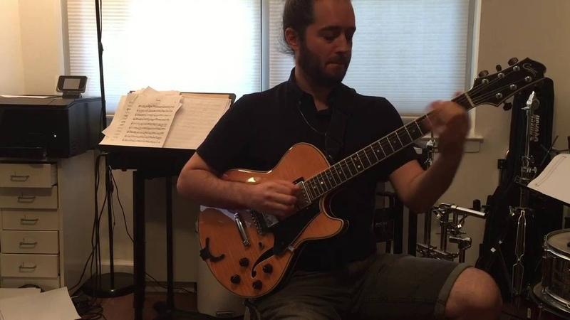 Yotam Silberstein Plays Lennie Tristano's Line Up on Guitar