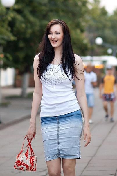 А это модель из Пензы, Екатерина Лисина.