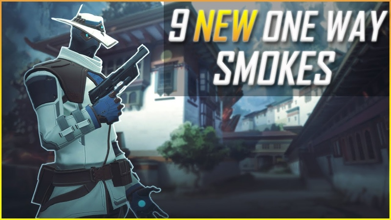 Valorant: 9 NEW Cypher ONE Way Smokes on EVERY Map - Yup I found more...