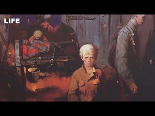 Открытие выставки о детях Великой Отечественной войны