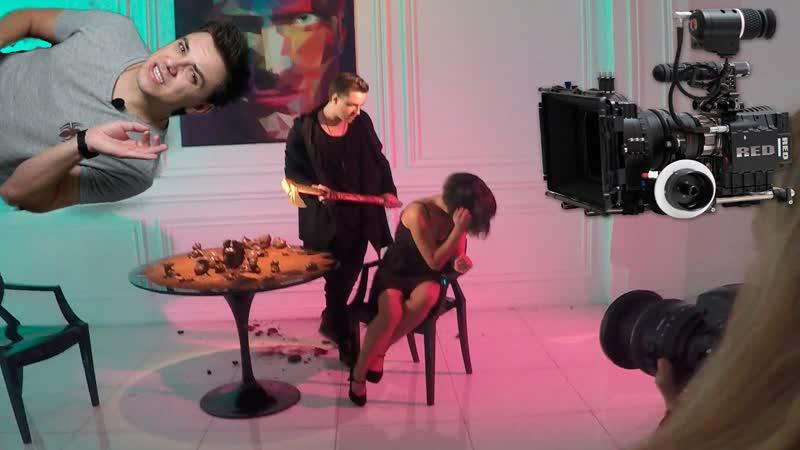 Utopia Show Съемка в клипе капли в нос бомбит