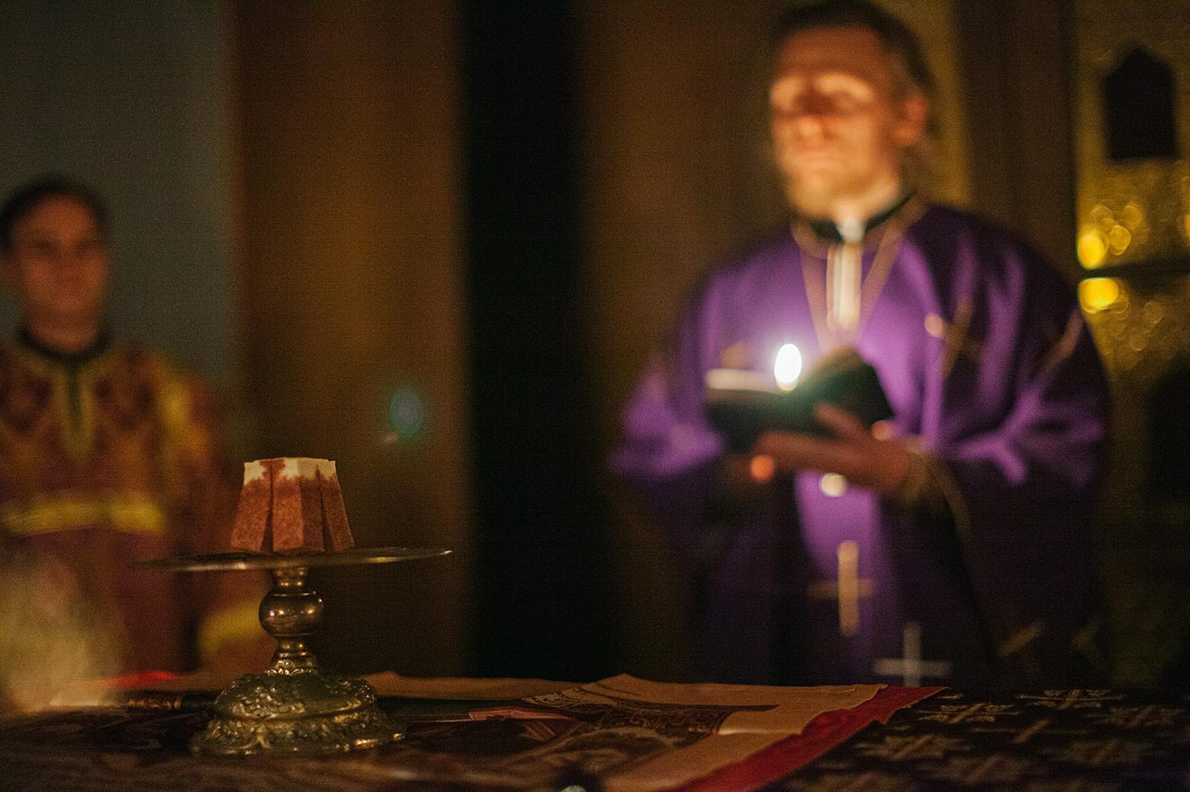 Настоятель обители впервые за историю монастыря совершил вечернюю Литургию Преждеосвященных Даров, изображение №1