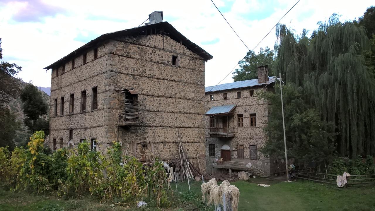 армянские дома в турецких горах Качкар