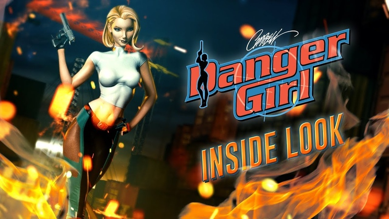 Inside Look J Scott Campbell's Danger Girl Abbey Chase