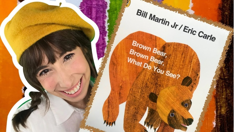 Brown Bear Brown Bear What Do You See Read Aloud Story