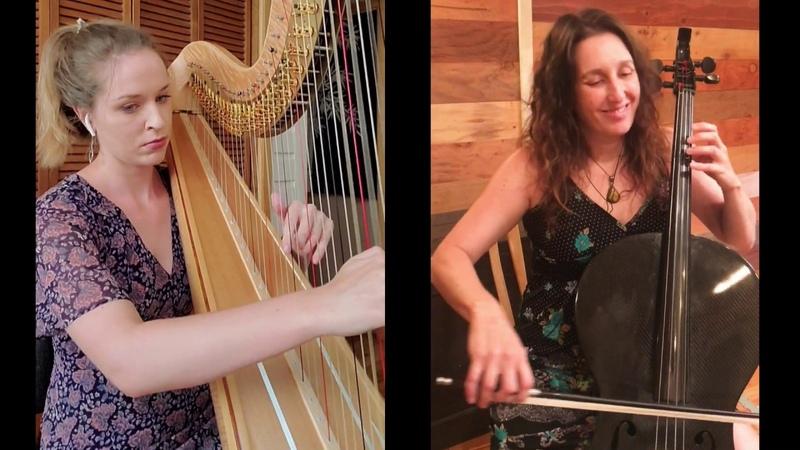 Bluegrass Fantasia For Harp and Cello