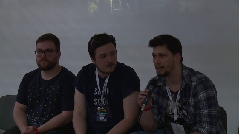 Warsaw Comic Con 2017 Meeting with crew of Pół Wieku Poezji Później Alzur's Legacy