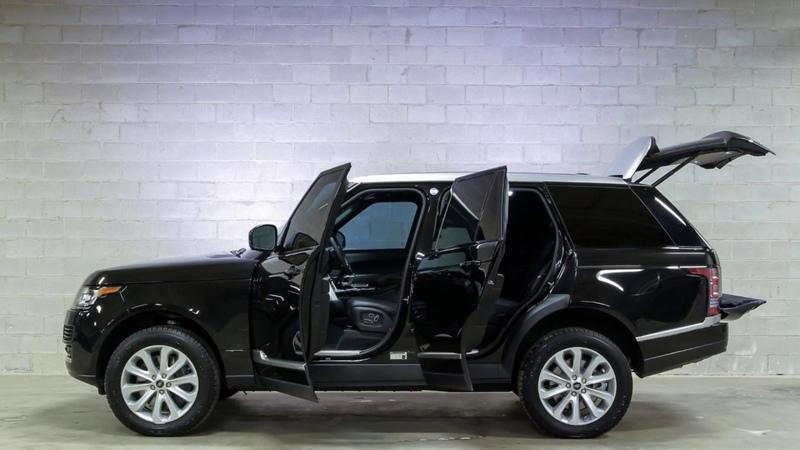 INKAS® Armored Range Rover HSE