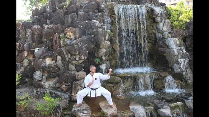 Goju Ryu training at home 7 Jumbi Undo Suri ashi Basic bunkai Saifa kata Sensei Aleksandr Grib