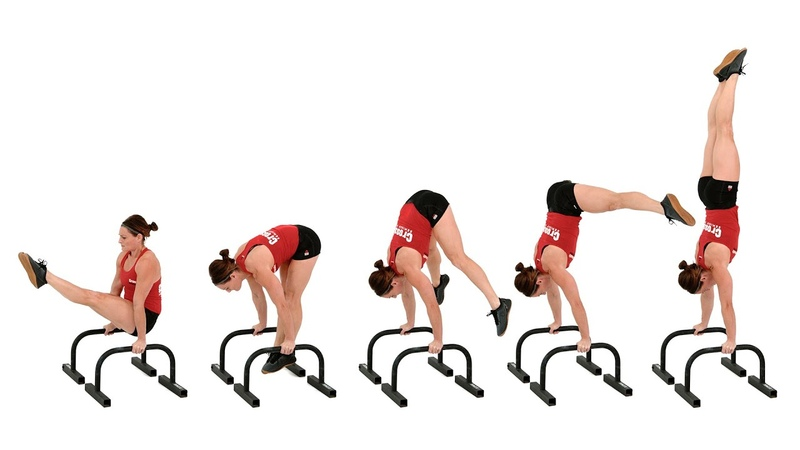 The Straddle Press to Handstand