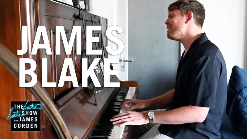 James Blake - A Case of You (Joni Mitchell Cover) - The Late Late Show