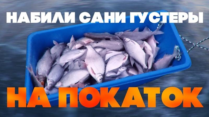 Покаток. Зимняя рыбалка. Дон. Ловля на покаток.