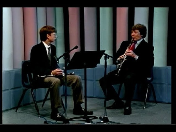 A Clarinet Masterclass with Richard Stolzman