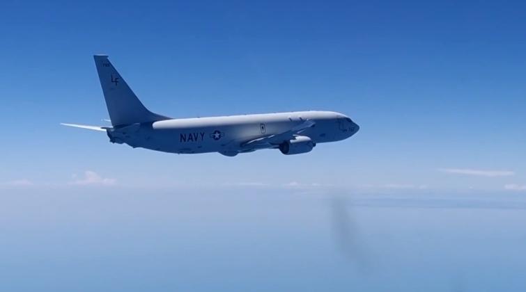 Американский военный самолет провел разведку у берегов Крыма