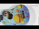Укулеле Veston KUS 25 Baloon - распаковка, пример звучания | Ukulele - unbox sound test demo