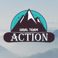 Логотип ACTION URAL / Активный отдых. Горнолыжные туры