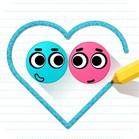 Влюблённые шарики
