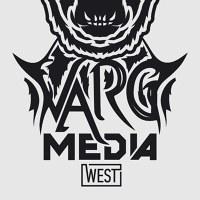 Логотип VARG MEDIA WEST: концерты ,PR, продюсирование