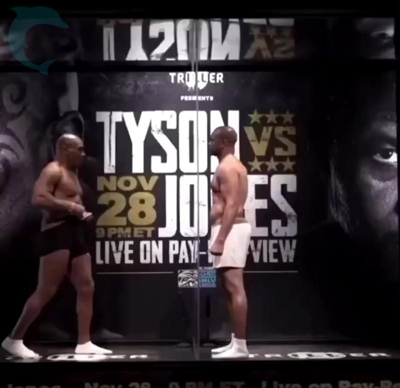 Майк Тайсон vs Рой Джонс