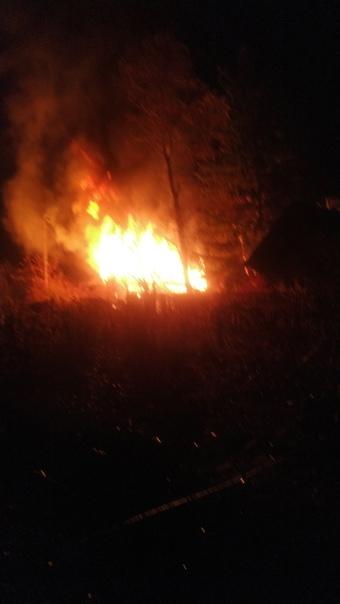 Поджоги домов в с. Подгоры Волжского района Самарс...