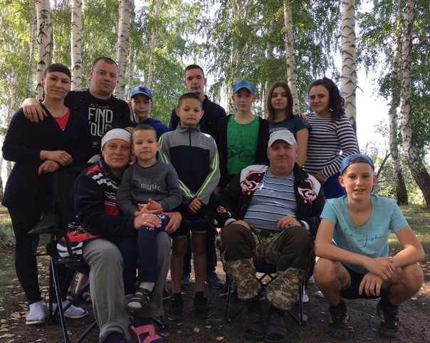 👨👩👧👦В семье Фадеевых из Похвистнева - 9 детей, ...