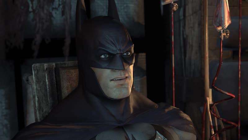 Batman Arkham City встреча с джокером