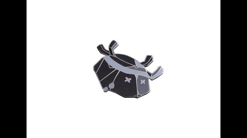 Flipped Crab Pin