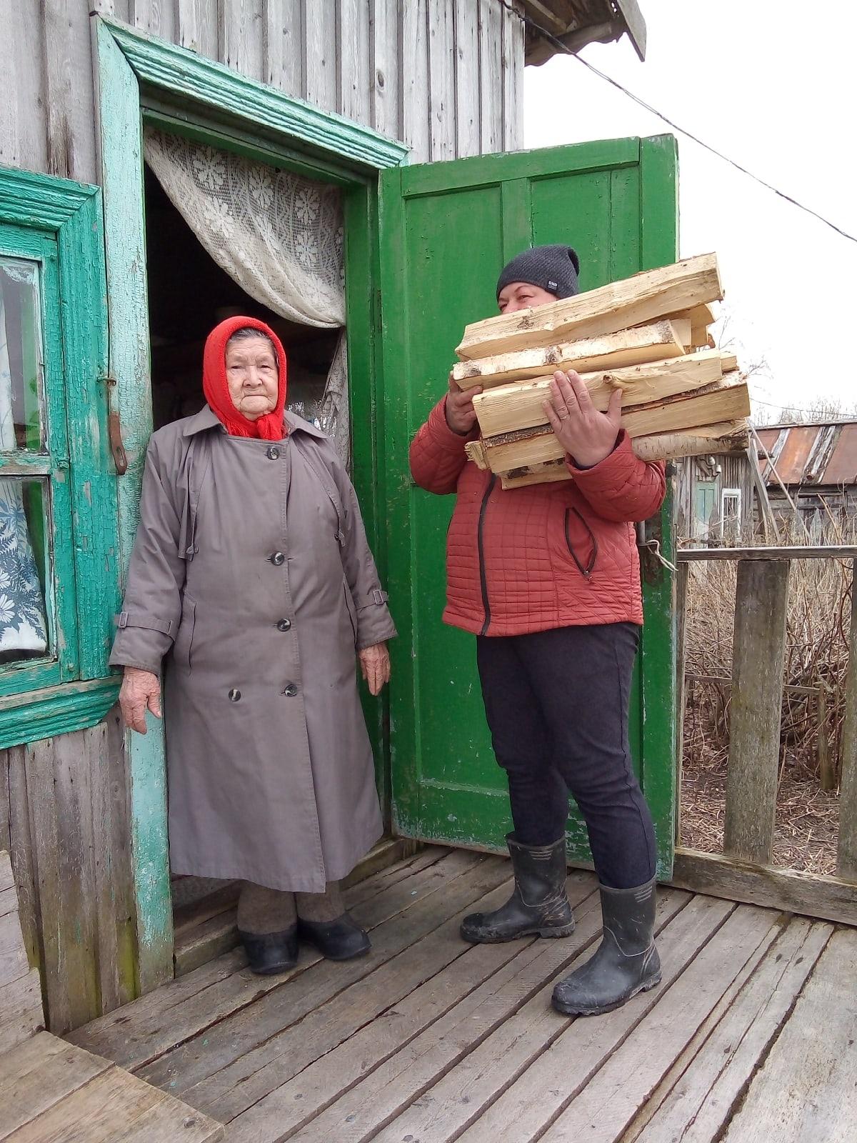 Социальные работники Белавина И.